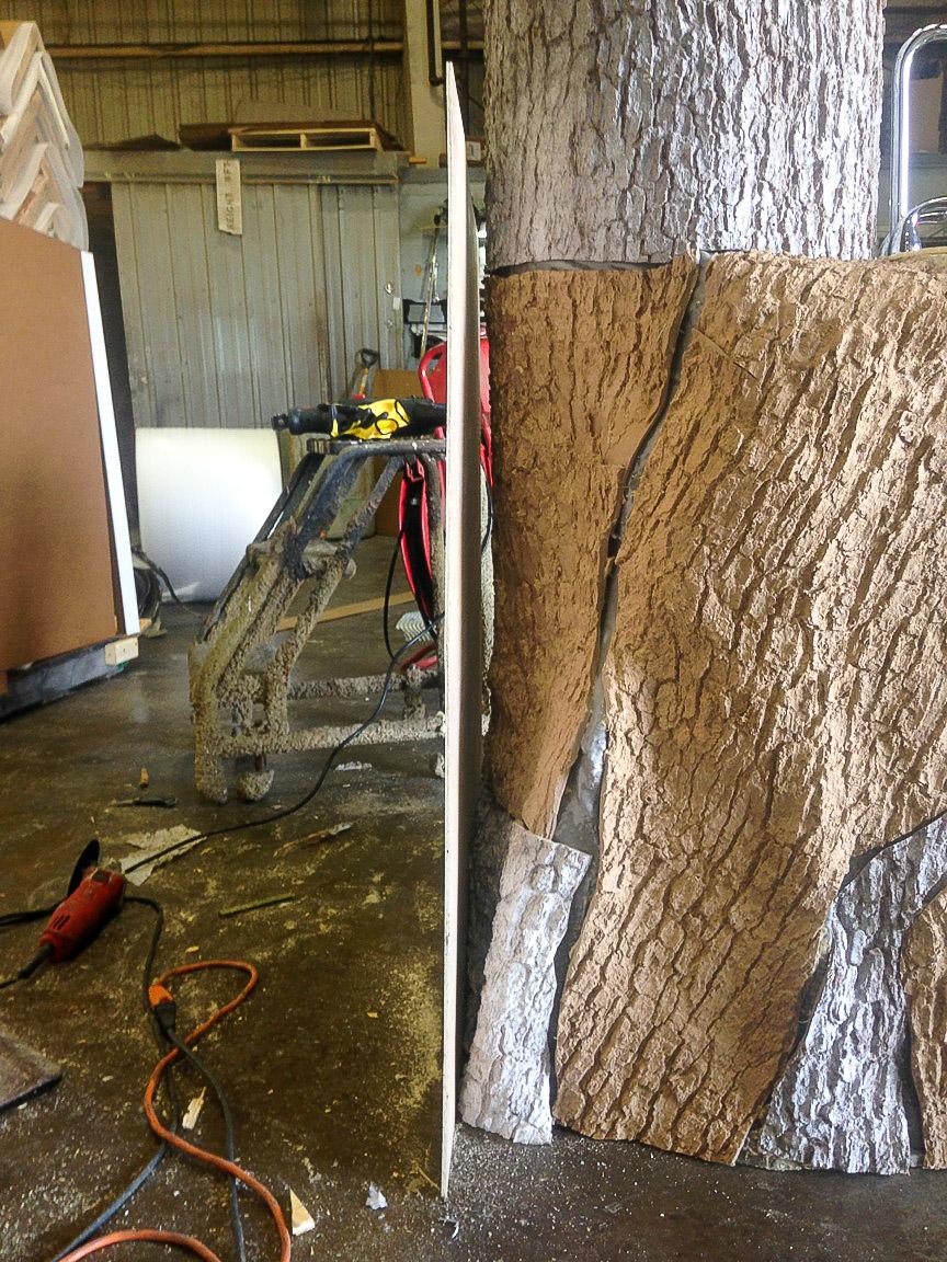 Flexbark Installation Faux Tree