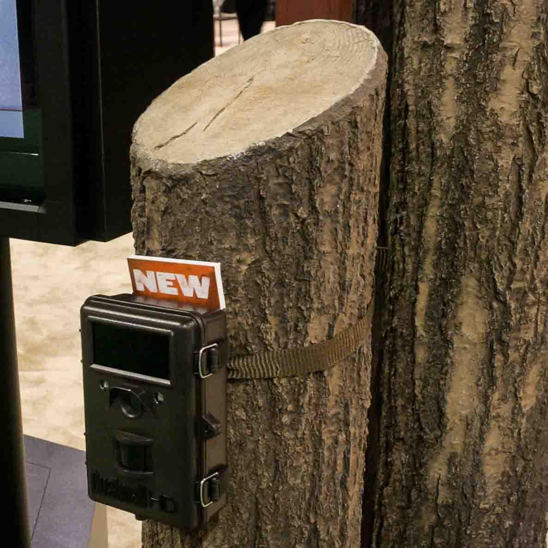 Bear Grylls Field Camera on Flexbark log