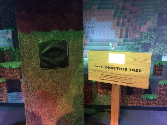 Museum of Pop Culture Minecraft Exhibit